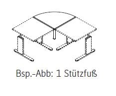 Röhr-Bush - Techno 019 - Verkettungsplatte - Breite 80 cm