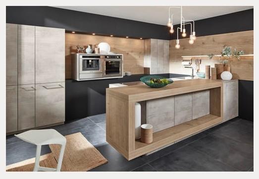 Nolte-Küchen - Küche Stone Beton
