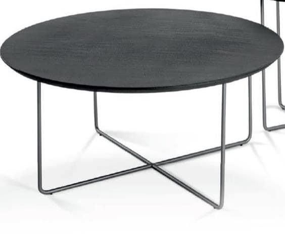 Hasse Couchtisch System Soft - versch. Ausführungen - Tischplatte rund, Ø 90 cm