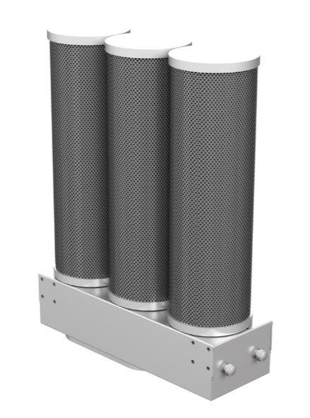 Bora Universalzubehör - Bora Luftreinigungsbox mit 3 Aktivkohlepatronen - ULB3