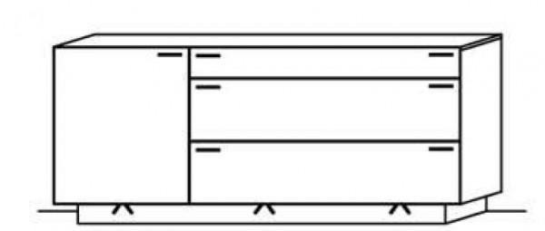 Schröder Kitzalm Montana - Sideboard - Nr. 3713