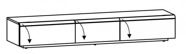 Voglauer V-Cube - Lowboard 224/37 - CL22
