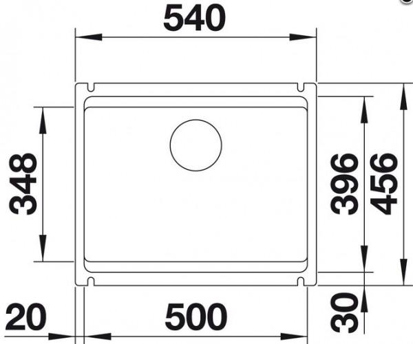 Blanco Etagon 500-U Unterbauspüle 521841