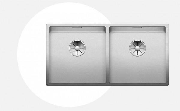 Blanco CLARON 400/400-IF Durinox® Einbauspüle 525017