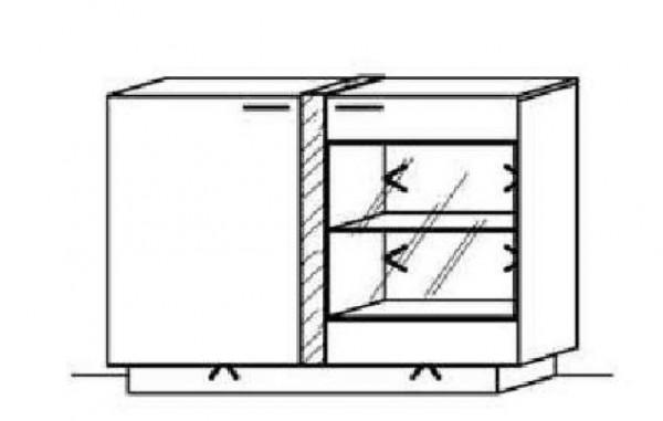Schröder Kitzalm Alpin - Sideboard - Nr. 3689 Blende Almschroppung