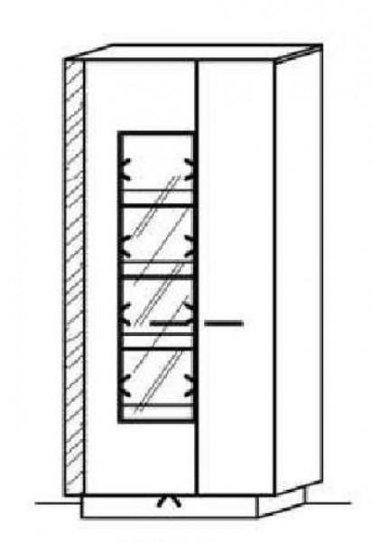 Schröder Kitzalm Alpin - Standelement - Nr. 6325 Blende Almschroppung