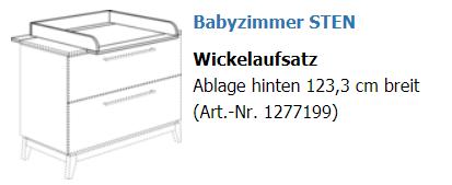 Paidi Wickelaufsatz Sten 1277199