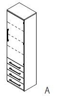 Röhr-Bush - Techno 019 - Aktenelement links