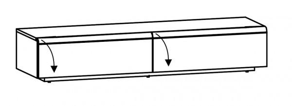 Voglauer V-Cube - Lowboard 192/37 - CL19
