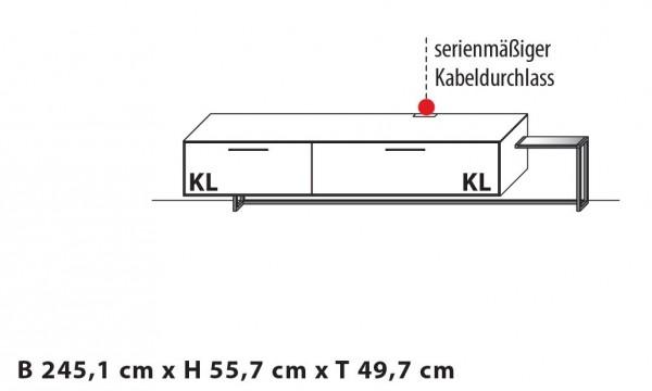 Wöstmann - WM 1880 Lowboard - Type 1453/1454