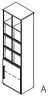 Röhr-Bush - Techno 019 - Prospektregal rechts