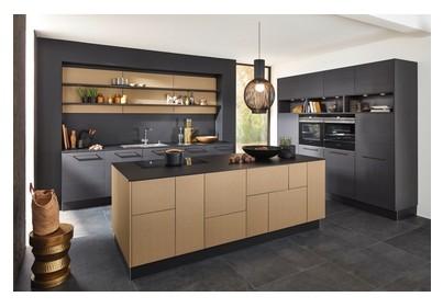Nolte-Küchen - Küche Nappa/Nature | Küchenzeilen | Küchen | KÜCHE ...