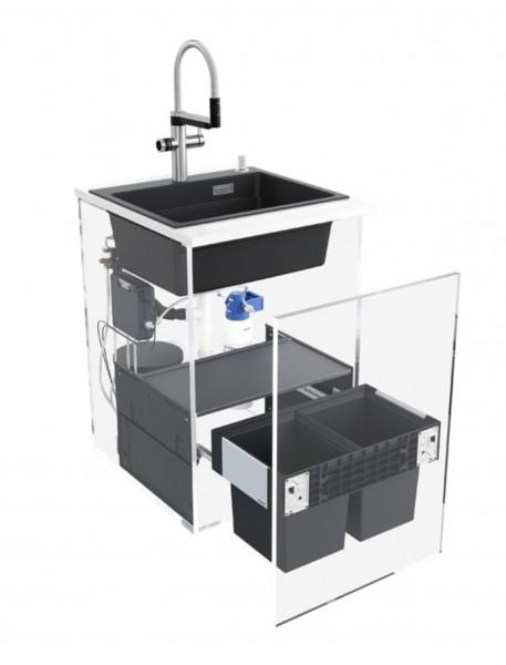 Blanco UNIT Hot & Filter-Set, Etagon 500-F, Evol-S Pro Hot, Select II 60/2 Compact - 526287