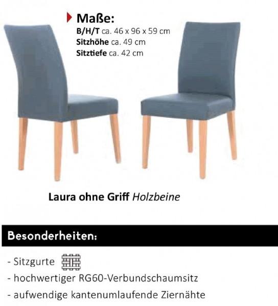 """Standard - Stuhlsystem """"Shake it"""" Laura ohne Holzgriff - Holzbeine"""