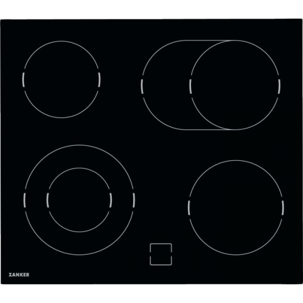 Zanker - KEV 6043 FBB - Glaskeramik-Kochfeld