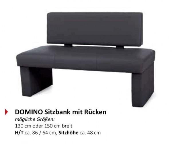 Standard - Domino Sitzbank mit Rücken