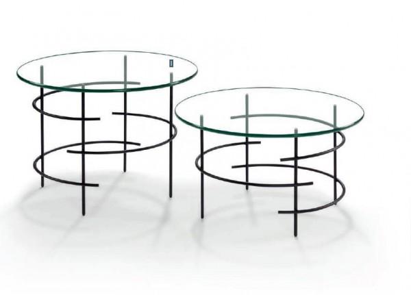 Hasse Glas-Couchtisch 8511/8512 - Design Couchtisch