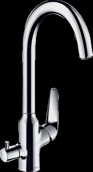Hansgrohe M424-H220 Einhebel-Küchenmischer mit Geräteabsperrventil