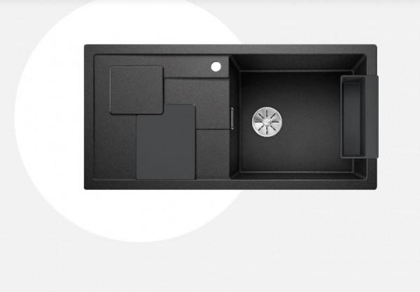 Blanco Sity XL 6 S Einbauspüle mit Zubehör lava grey