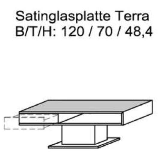Schröder Zermatt - Couchtisch - Nr. CTT120