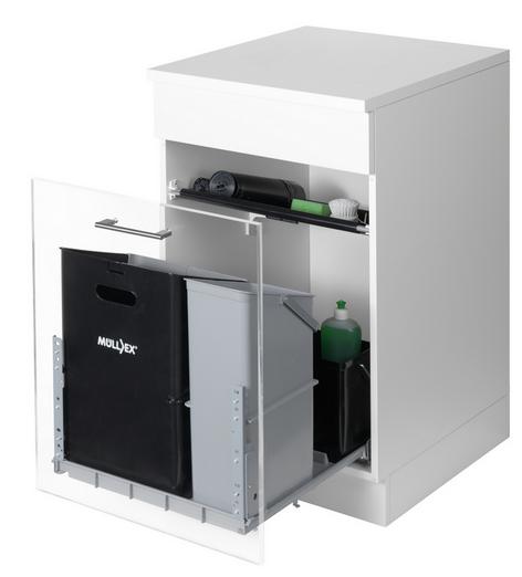 Naber Müllex Comfort 35/17/4/4 Auszug-Abfallsammler 8011054