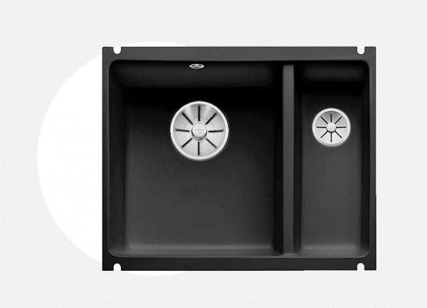 Blanco Subline 350/150-U Einbauspüle Keramik PuraPlus