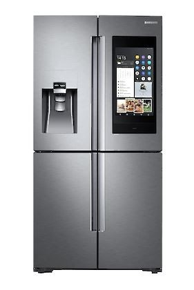 Samsung Family Hub, French Door, Edelstahl - RF56N9740SR/EF