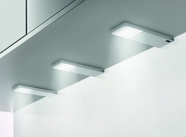 Naber Yolo Neo LED-Leuchten-Set edelstahlfarbig