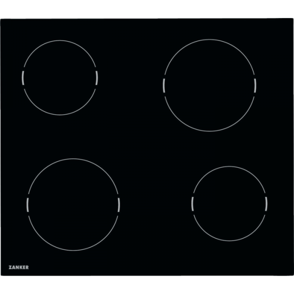 Zanker - KEV 6041 FBB - Glaskeramik-Kochfeld